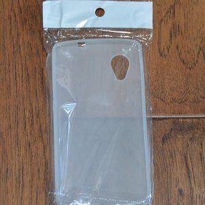Nexus 5 Soft Plastic Case in Frost White